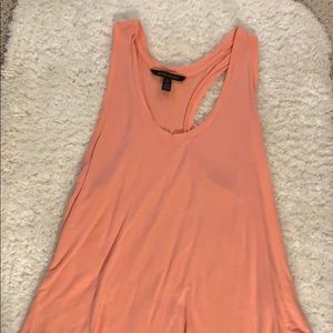 Banana Republic coral pink tank top